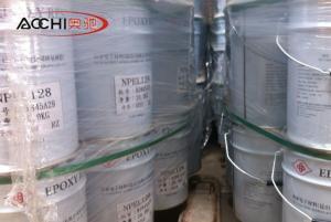 China Hot Sell epoxy resin Nanya NPEL-128 resin used in coating, adhesive, anticorrosion on sale