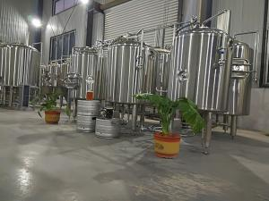 China Sus 304 Commercial Beer Brewing Systems , 200l Small Home Brewing Equipment on sale