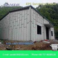 China Light weight and waterproof eps cement  sandwich  wall panel 2440*610mm on sale