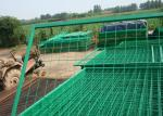 PVC Coated Wire Mesh Fence Metal Security Fencing High Strength And Durability