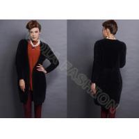 Black Rabbit Alpaca Womens Chunky Sweaters / Long Sleeve xxl Womens Sweater Coats in XS S M L Size
