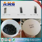 2*12mm 134.2KHZ Animal Microchip RFID Glass Tube Tag For Pet Track