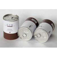 China Food Grade Paper Cans Packaging with Customized Design for Powder on sale