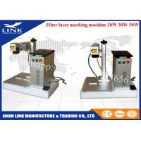 Raycus IPG 20W 30W 50W portable laser marking machine , fiber laser marking machine