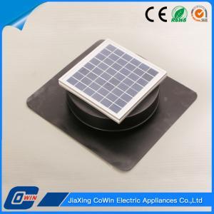 12v aluminum solar powered roof vent fan 8w solar powered attic rh unistrengh sell everychina com