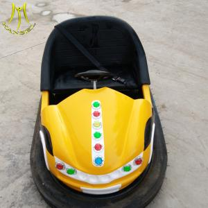 China Hansel kids entertainment products fiberglass bumper car coin operated machine on sale