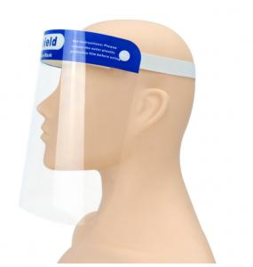 China Waterproof 10 Pack Disposable Face Shield on sale