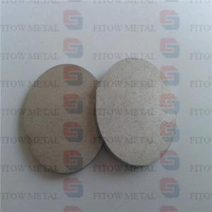 China Sintering plate Microporous filter disc plate on sale