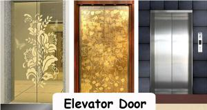 China High End Home Elevator Parts , Open Elevator Door Elevator Components For Apartment on sale