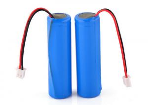 China 3.7V 18650 Li ion 2600mAh Rechargeable Lithium Battery Pack For Led Lights on sale