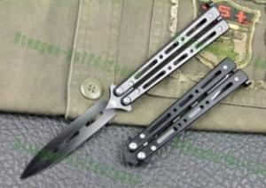 Quality shadow steel pocket butterfly knifes for sale