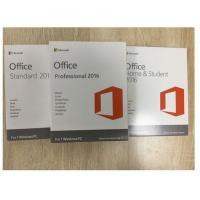 Multi Language Software License Key Office 2016 Professional Retail Version