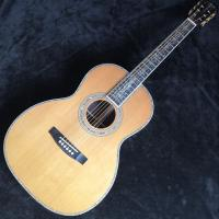39 inch 00045 Acoustic guitar abalone with Super luxury acoustic guitar with pickup 301