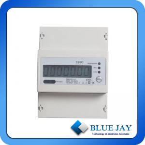 China Power Meter Multi Faction Electric Energy Meter Single Phase Din-Rail Energy Meter With RS485 Port on sale