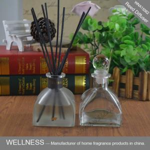 China Multi Color Scented Oil Reed Diffuser , Room Oil Diffuser With Reed Sticks on sale