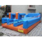 China PVC Inflatable Bungee Run Triple Lane,Three LaneInflatable Sports Games Bungee wholesale