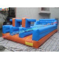 China Ruelle triple courue par Bungee gonflable de PVC, Bungee de trois de LaneInflatable jeux de sports on sale