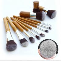 Hotsell ! Authentic Professional 11 Piece Bamboo Make Up Brush Set small qty accpet