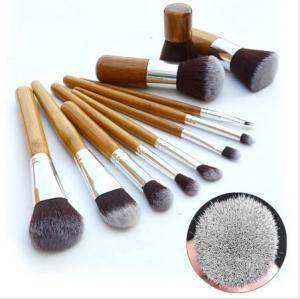 China Hotsell ! Authentic Professional 11 Piece Bamboo Make Up Brush Set small qty accpet on sale