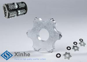 China 6 Point Tct Cutter Edco Scarifier Parts On Scarifying Machines , Long Life on sale