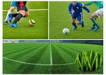 China Polyethy Fiber Fire Resistant Outdoor Artificial Grass 50mm For Football Pitch wholesale