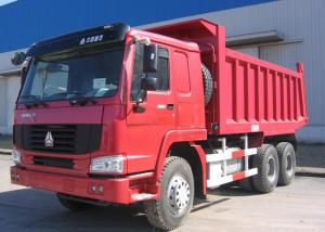 China LHD / RHD 6x4 Tipper Dump Truck  , SINOTRUK HOWO Heavy Duty Dump Truck on sale