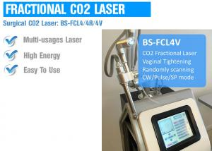 China High Energy CO2 Fractional Laser Machine For Skin Scar Removal / Acne Treatment on sale