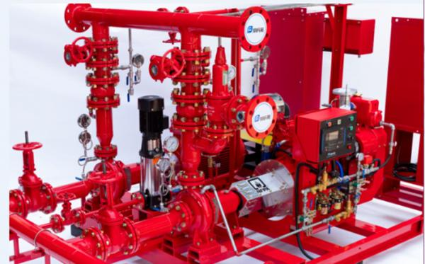 Multi Functional 750 GPM End Suction Fire Pump With Electric Motor