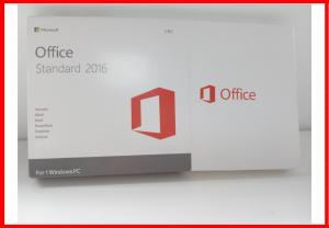 China Genuine Microsoft Office 2016 Professional Retail Box Office 2016 Standard Dvd Retail Actiavted on sale