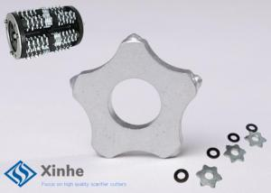 China 1-3/4 Carbide Flail Cutters Edco Scarifier Parts For Floor Scarifier on sale