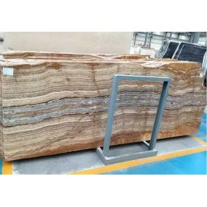 China New Tiger Black Sea Onyx Stone Slabs / bathroom , kitchen onyx worktops on sale