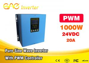China Pure Sine Wave Solar Powered Inverter 1000w 12v 24v To 110v 220v PWM Controller on sale