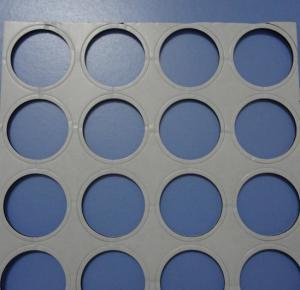 Quality 5 con el reemisor de isofrecuencia termal termal azul-violeta del cojín de goma de silicona del mK con 50 shore00 para el tubo de calor micro -50 a 200℃ for sale
