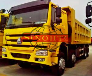China Right / Left Hand Driving Heavy Duty Dump Truck Four Axle 50 Tons Max Capacity on sale