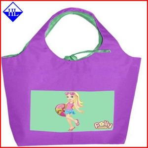 China Full Color Reuseable Non Woven Fabric Bags , Non Woven Polypropylene Shopping Bags on sale
