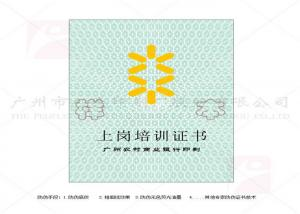 China Glossy / Matte Lamination Degree Certificate Printing Art Paper Environmentally Friendly on sale