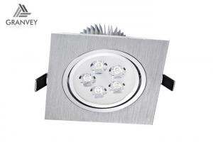 China 7W 10W LED Recessed Ceiling Lights Fixtures , LED Recessed Can Lights With Spray Paint on sale