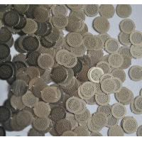 Micron Hole Size stainless steel filter disc , wire filter mesh diameter 5mm