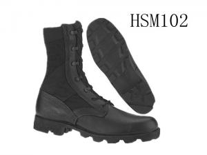 China ALTAMA classic style black 8 inch breathable skidproof panama sole military boots on sale