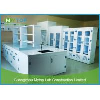 China PP Material Hospital Laboratory Furniture Lab Workbench Alkali Resistance on sale