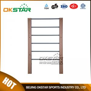 China outdoor gym equipment WPC materials based wall bars gymnastic bars for sale on sale
