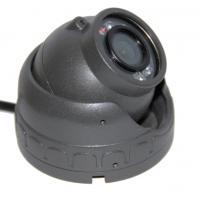 High Resolution Weatherproof Car Dome Camera 10pcs IR LED For Bus