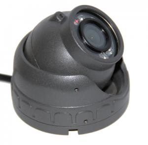 China High Resolution Weatherproof Car Dome Camera 10pcs IR LED For Bus on sale
