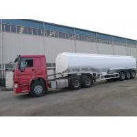 HOWO Brand Oil Tank Trailer Right / Left Hand Truck ZZ1251M4641W ISO Approved