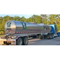 304 Stainless steel water milk  tanker trailer Stainless Steel Tanker Trailer For Milk and Edible oil App:8615271357675