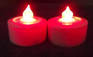 China ABS plastic LED tealight candles , customized battery powered LED Candles on sale