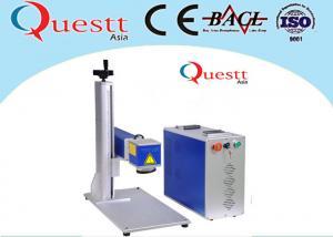 China Small Optical Fiber Laser Marking Machine 20 Watt 7000 Mm/S 3 Axis Computer Controller on sale