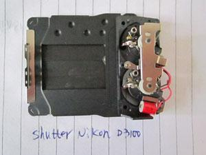 China 96%New Digital Camera Shutter For Nikon D3100 on sale