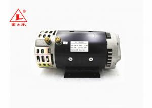 China 4.0KW Forklift DC Motor , 142mm O.D. Small 24 Volt Dc Motor With Slot Shaft on sale