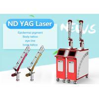 Tattoo / Freckles Reduction Q-Switch Laser Machine Korea Light Arm 2 - 10 Spot Size Adjustable